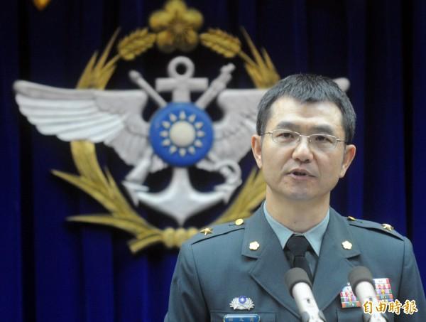 莫又銘將接任馬防部指揮官。(資料照,記者王藝菘攝)