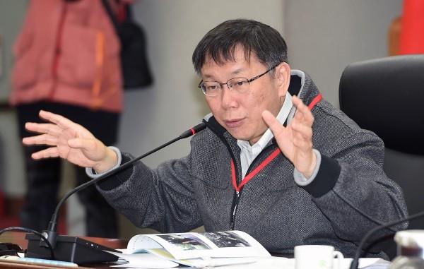 柯文哲日前多次強調台北、上海雙城論壇續辦的想法。(記者廖振輝攝)