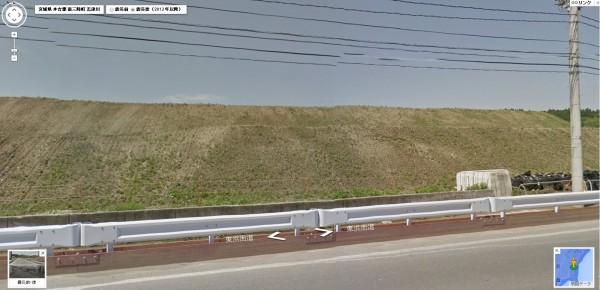 同地點在前年5月的模樣。(圖擷取自miraikioku.com)