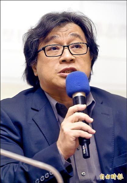 中研院台史所副研究員吳叡人(記者簡榮豐攝)