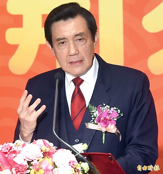 總統馬英九。(資料照,記者方賓照攝)