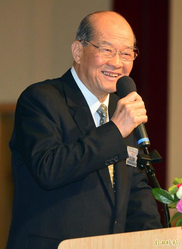 台聯主席黃昆輝痛斥馬政府在M503航路事件上態度軟弱,犧牲台灣人民的利益來換取兩岸和平。(資料照,記者王藝菘攝)