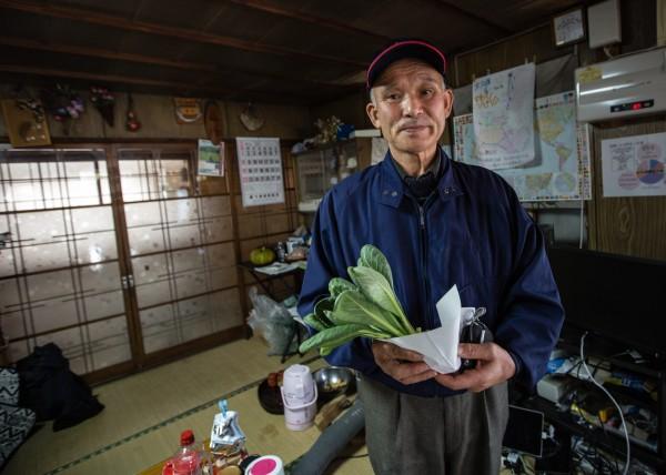 日本福島核災已過去4年,但仍對許多日本人生活產生極大影響。圖為福島當地的農夫。(歐新社)