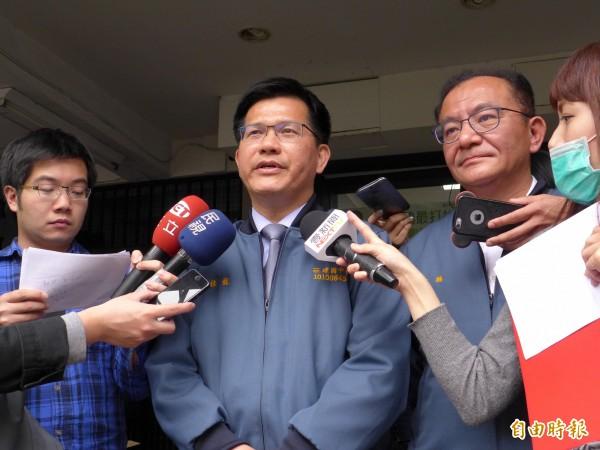 台中市長林佳龍(中)。(資料照,記者李雅雯攝)