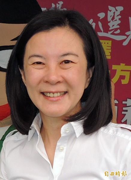 民進黨台南市議員邱莉莉。(資料照,記者王俊忠攝)