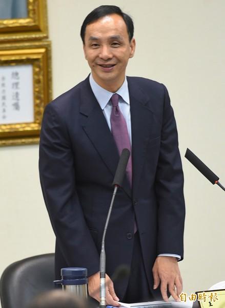 國民黨主席朱立倫。(資料照,記者張嘉明攝)