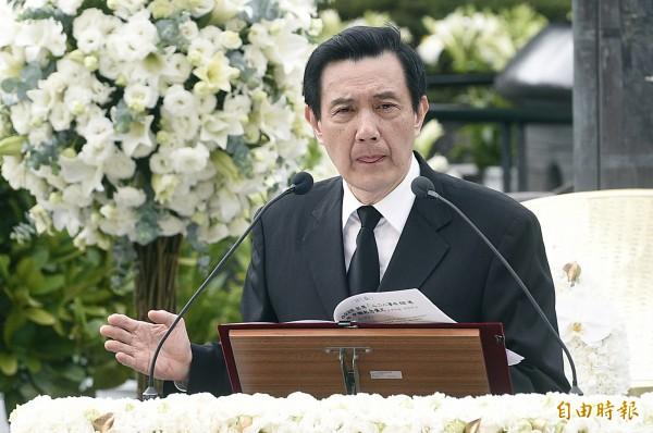 總統馬英九表示自己不清楚美河市簽約案,卻被爆料有在公文上蓋章。(資料照,記者陳志曲攝)