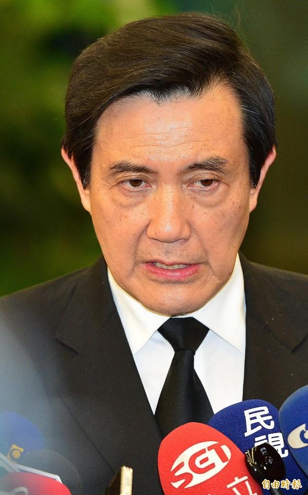 馬英九在擔任台北市長時期放水日勝生取得連開案,卻在近期受訪時稱「不知情」,恐難辭其咎。(資料照,記者姚介修攝)