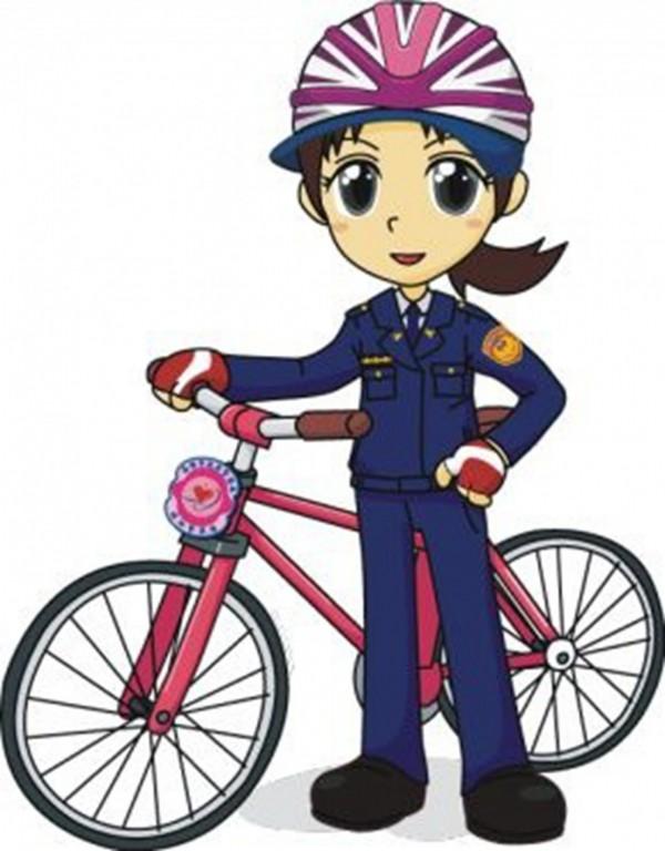 高市警婦幼隊粉絲團代言人命名,票選結果「優莉」出線,外形亮麗又陽光、優異具活力,拉了不少男粉絲。(記者黃良傑翻攝)