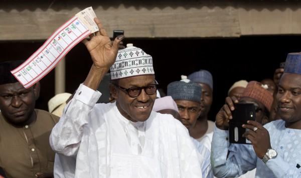奈及利亞總統大選結果出爐,反對黨候選人布哈里勝出,替反對黨贏得該國回歸文人統治以來的首場勝利。(美聯社)