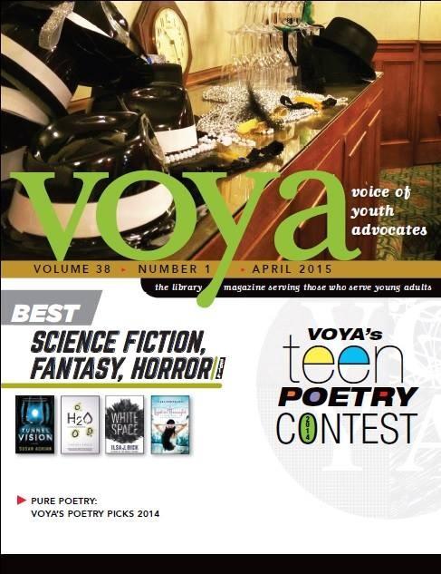 《青少年倡導之聲》是美國青少年文學的重要期刊,每年都會舉辦全國性的新詩比賽,近年有越來越多華裔學生獲獎。(圖擷取自VOYA官網)