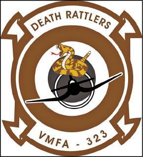 VMFA-323中隊臂章