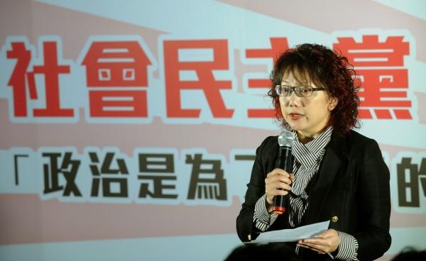 外傳范雲與蔡英文日前協調明年立委選舉一事,社民黨表示,兩人並無見面。(資料照,記者劉信德攝)