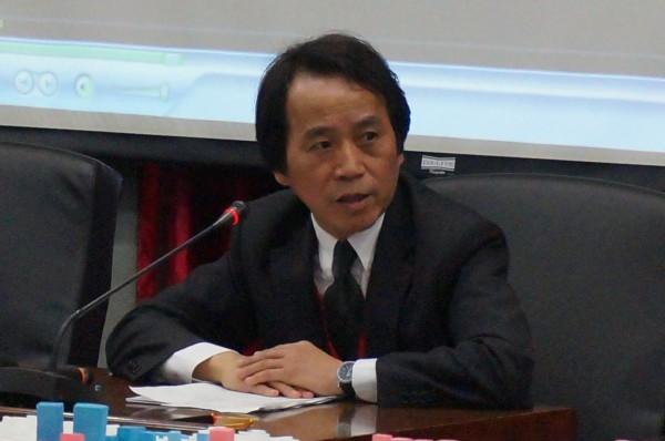 台北市副市長林欽榮今晨9點召開記者會。(資料照,記者涂鉅旻攝)