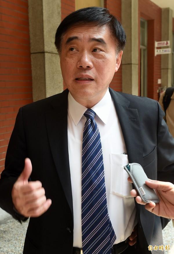 國民黨副主席郝龍斌在臉書發文,質疑台中市長林佳龍若真得有要求台中捷運工程加快,就應對工安意外負起完全的責任。(資料照,記者簡榮豐攝)