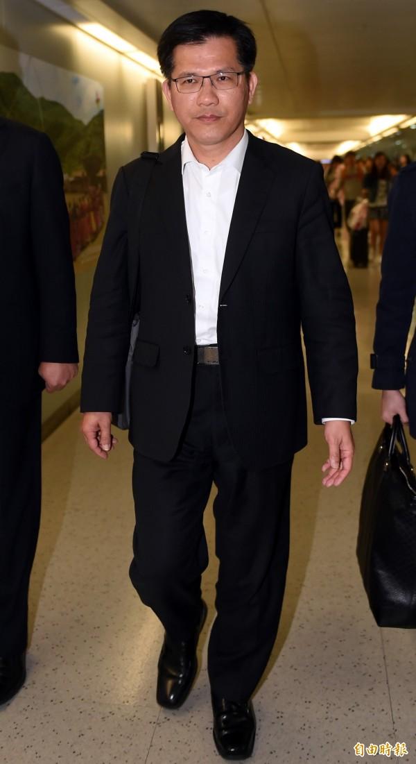 台中市長林佳龍表示,市府盼如期完工是加速解決土地糾紛、行政效率,跟趕不趕工沒有關係。(資料照,記者朱沛雄攝)