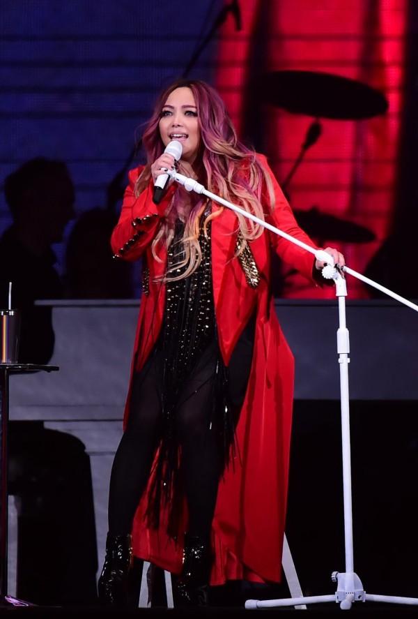 張惠妹在小巨蛋開演唱會,觀眾熱情唱跳造成地板震動,引發附近居民投訴。(資料照,記者胡舜翔攝)