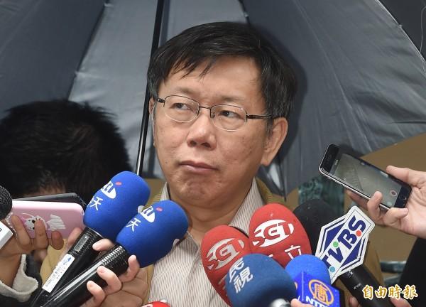 北捷針對中捷的工安意外寫檢討報告,但台北市長柯文哲對於昨天捷運局的檢討報告內容表達,認為仍不夠精準,導致報告二度被退回。(資料照,記者廖振輝攝)