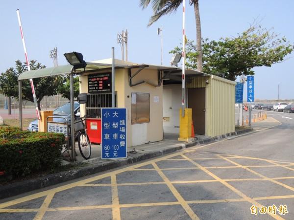中山大學確定5月1日起調漲大型車輛停車費為150元。(記者洪定宏攝)
