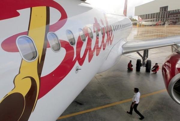 印尼一架峇迪航空(Batik Air)班機驚傳機上有炸彈,當局緊急要求迫降搜查。(歐新社)