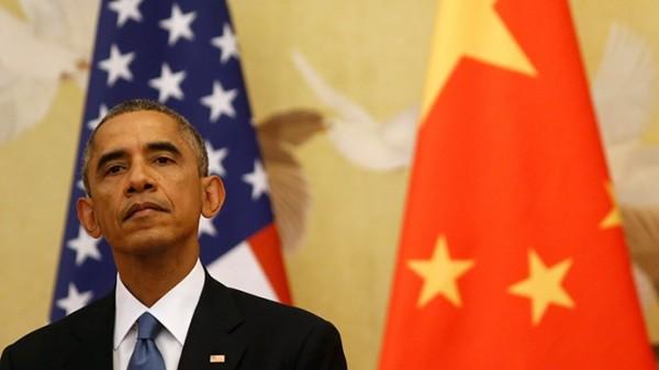 美國總統歐巴馬昨日為國會新立法賦予總統貿易「快速通關權」辯護,指美國應協助訂定全球貿易規則,而非讓中國這種國家來訂立,否則將對美國不利。(路透社)