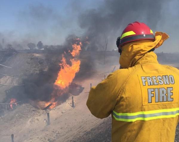美國加州18日下午發生天然氣管線爆炸意外,造成15人受傷,其中3人命危。(路透)