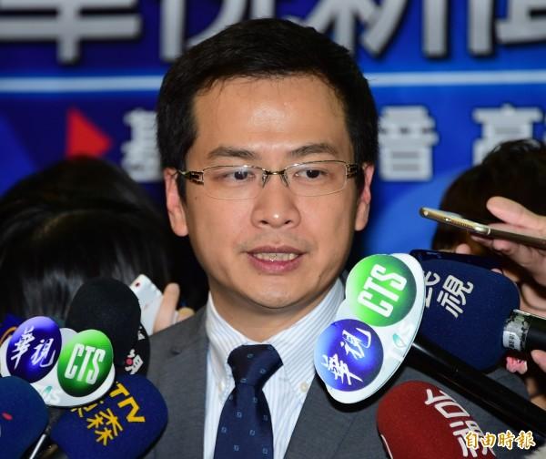 羅智強今天投書媒體,表示面對網路謠言,「不要沉默」。(資料照,記者潘少棠攝)