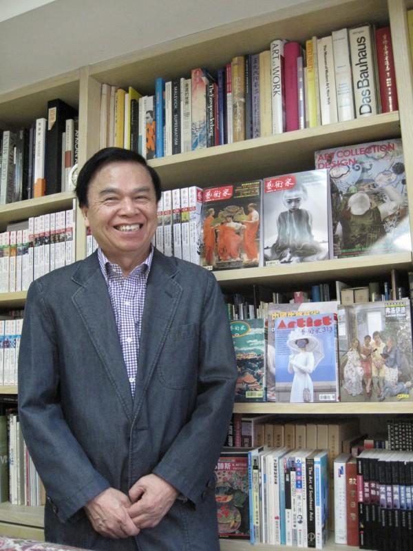 《藝術家》雜誌創辦人何政廣獲第39屆特別貢獻獎。(圖由文化部提供)