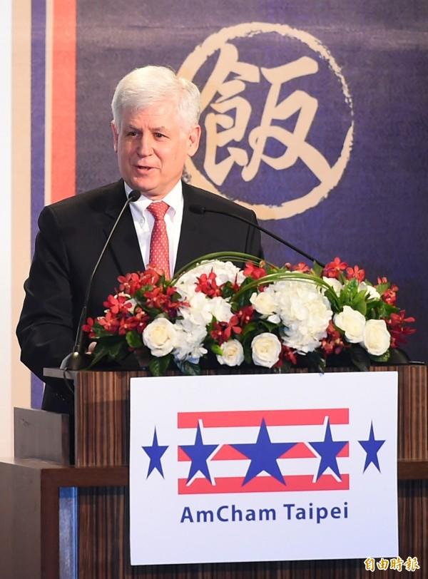 馬啟思今天說,美方相信台灣選民有智慧能選出代表台灣利益的領導者。(資料照,記者張嘉明攝)