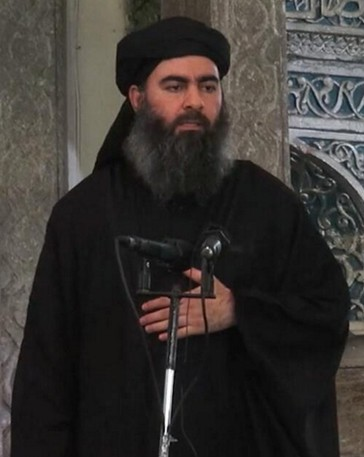 IS首領巴格達迪一度被傳出瀕死,不過美方表示,該篇報導無憑無據。(圖取自維基百科)