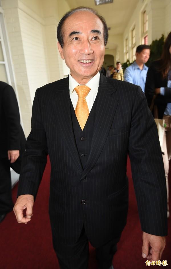 立法院長王金平強調,立法院即將展開的修憲,一定要在6月中旬左右完成。(資料照,記者張嘉明攝)