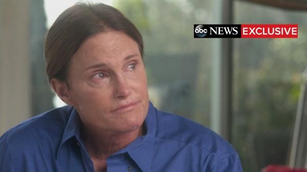 布魯斯日前接受電視媒體採訪,大聲宣告「我是女人」。(路透)