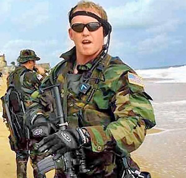 美國海軍海豹部隊前隊員歐尼爾。(圖取自網路)