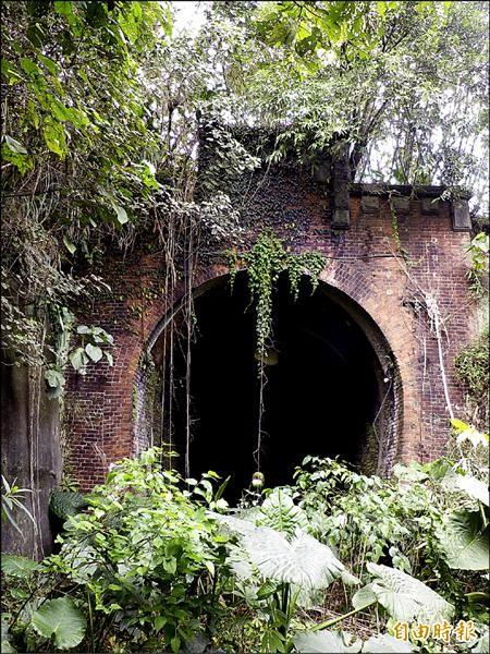 舊五堵隧道將改建自行車道,再現風華。(記者盧賢秀攝)