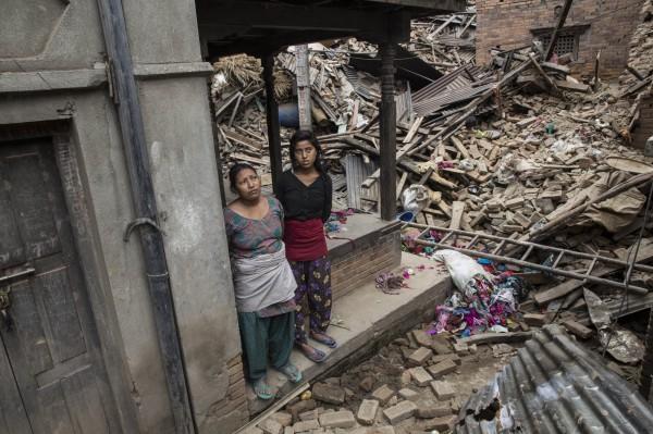尼泊爾25日發生規模7.9的淺層地震,傷亡慘重,中國專家認為,全球恐已進入強震活躍期。(法新社)