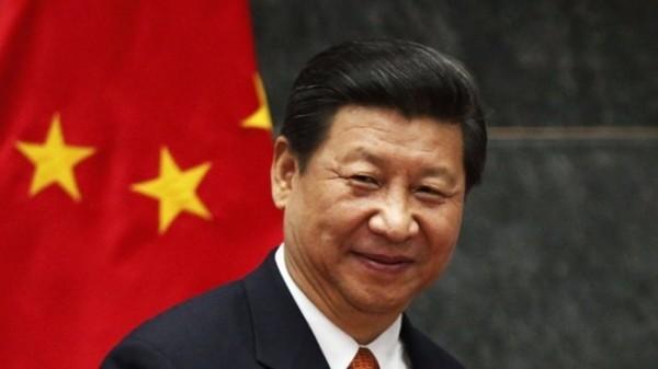 有中國學生說到對朱立倫的印象時,表示:「和顏悅色,感覺和習近平很像」。(圖片擷取自中國評論新聞網)