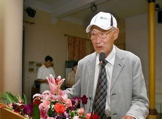 現年91歲的任九皋,1952年獨家代理知名的美國派克鋼筆在台銷售,堪稱「派克鋼筆之父」。(圖取自網路)