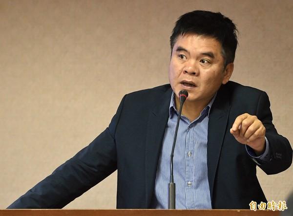 民進黨立委莊瑞雄。(資料照,記者王敏為攝)