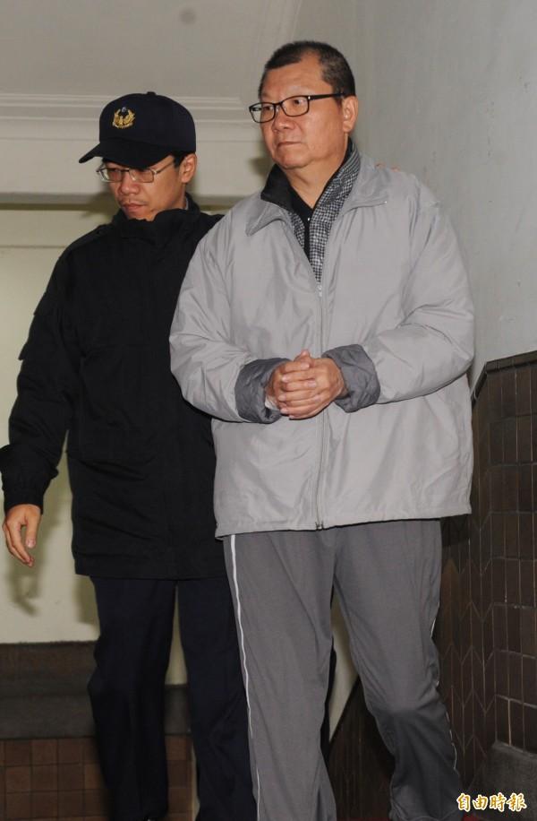 王令台成為力霸東森案中,王家子女第一個獲假釋者。(資料照,記者羅沛德攝)