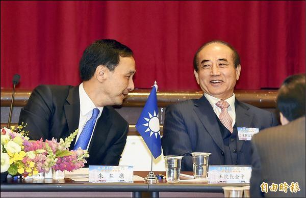 國民黨總統初選即將進入攤牌階段,挺王派立委認為,「朱王合作」是國民黨團結的重要象徵。(資料照,記者羅沛德攝)