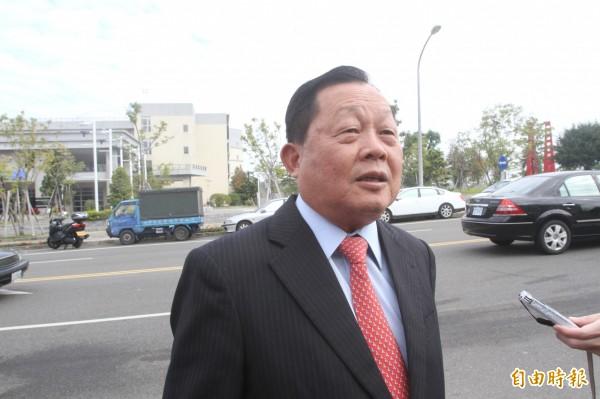 前苗栗縣長劉政鴻在任8年,讓苗栗縣負債從202億元飆到648億元。(資料照,記者張勳騰攝)