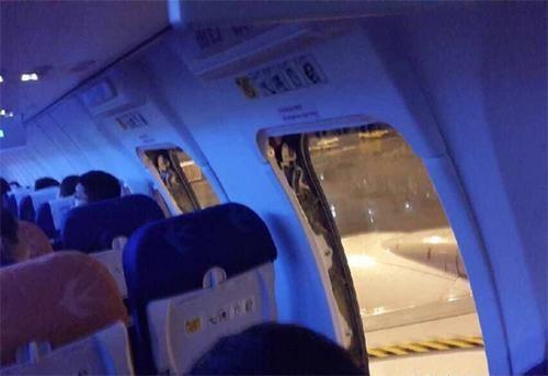 北京男子周躍擅自打開機艙門,曾被處以拘留15天處分。(圖取自網路)