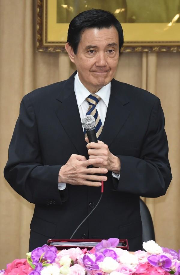 面對北市廉政委員會「涉嫌圖利遠雄集團」的指控,馬英九今天不願對此事多做回應。(資料照,記者劉信德攝)