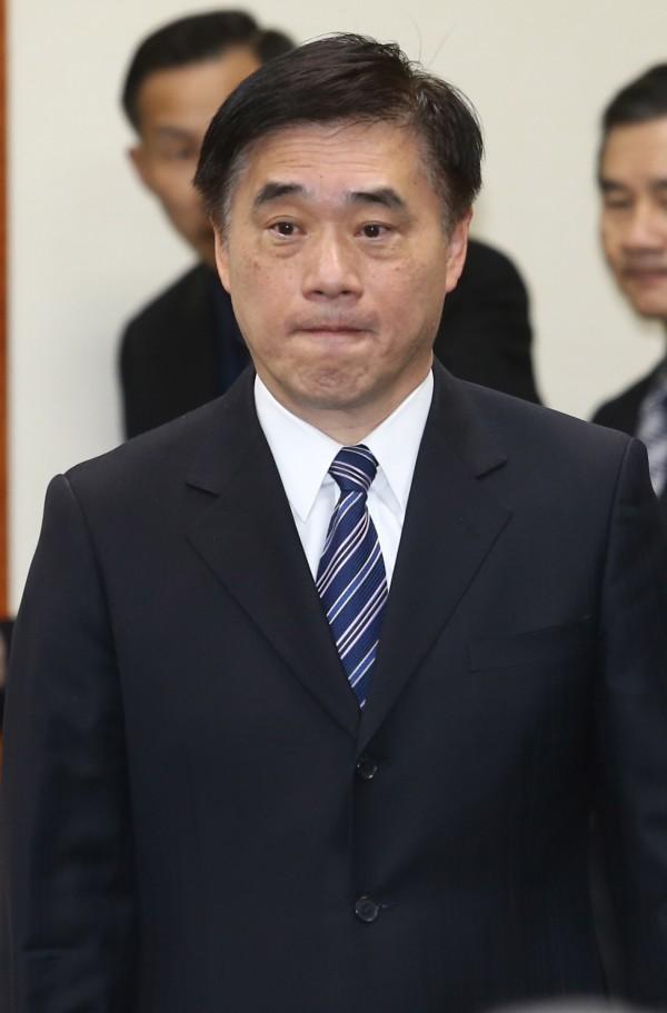 郝龍斌對廉委會調查報告極為不滿,今天上午他再度對此事進行回應。(資料照,記者張嘉明攝)