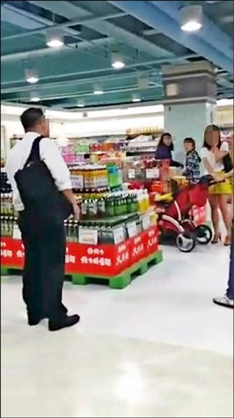 男子偷拍被發現,少婦報警處理。 (記者謝君臨翻攝芷俞臉書)