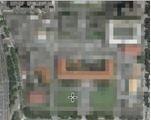 過去在谷歌地圖上搜尋舊空軍總部,只會看到滿滿馬賽克的照片。(擷取自翟本喬臉書)
