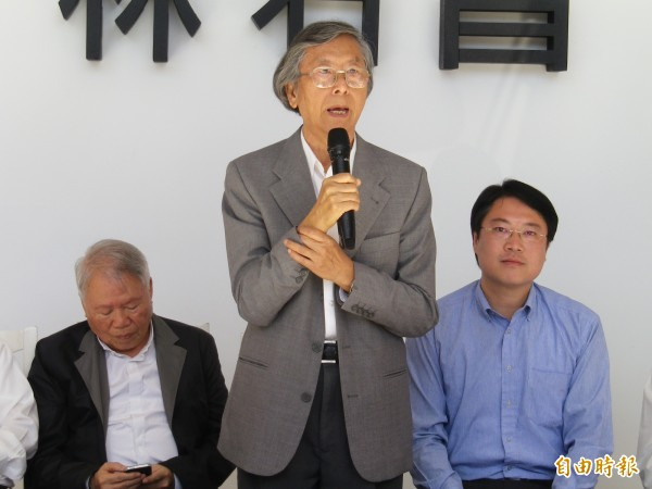 知名音樂家馬水龍逝世,林右昌打算籌辦紀念音樂會(記者盧賢秀攝)