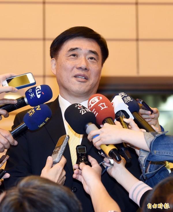 台北市前市長郝龍斌今天接受媒體專訪,抨擊現任市長柯文哲上任以來,完全沒有推進任何市政。(資料照,記者叢昌瑾攝)