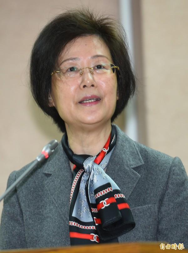 法務部長羅瑩雪上午表示,還沒收到北市府的卷證資料,等收到後,「會好好地認真討論」,至於如何討論,羅瑩雪未表示意見。 (資料照,記者張嘉明攝)