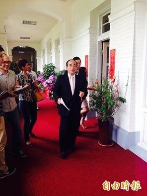 立法院長王金平上午表示,國民黨一定要團結。(記者邱燕玲攝)